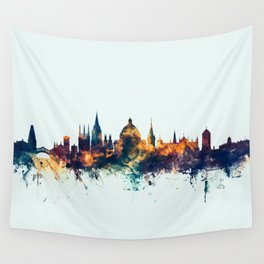 Oxford England Skyline Wall Tapestry