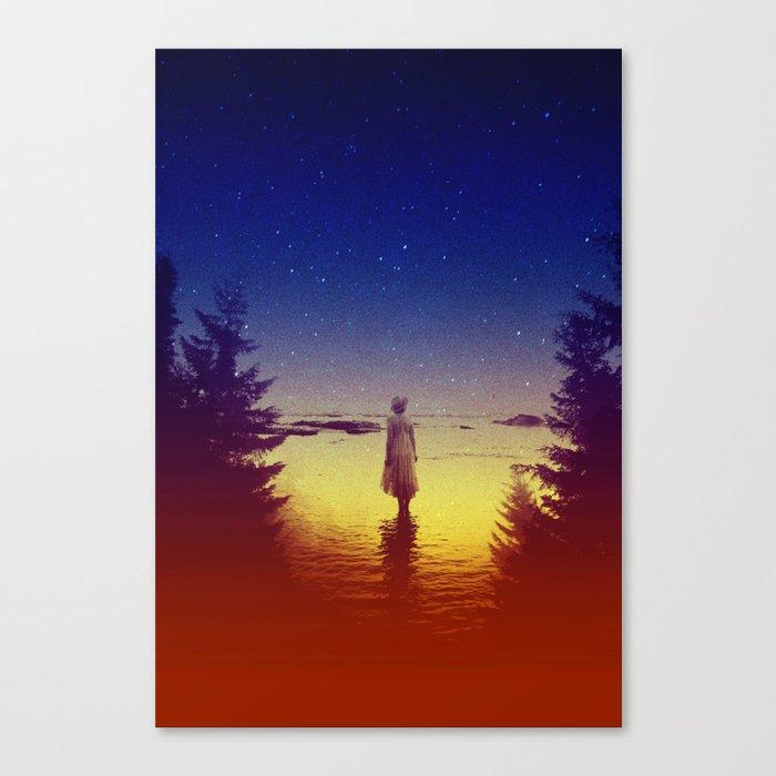 Wander Night Noise Canvas Print