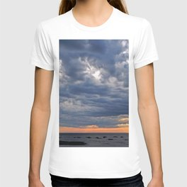 Dramatic Skies Over the Sea T-shirt