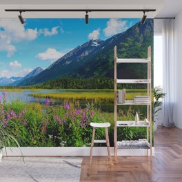 God's Country - Summer in Alaska Wall Mural