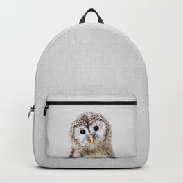 Baby Owl - Colorful Backpack