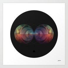 ∆ cosmic order Art Print