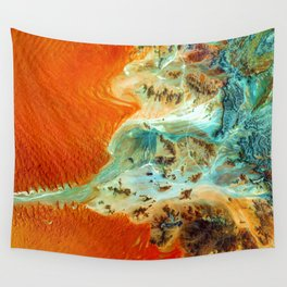 The Oasis (Color) Wall Tapestry