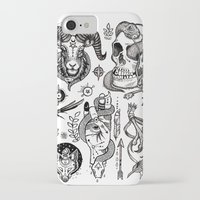 alchemy iPhone & iPod Cases featuring Lesser Alchemy by Polkip