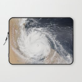 Tropical Cyclone Chapala Over the Gulf of Aden Laptop Sleeve