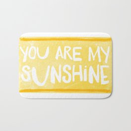My Sunshine Love Bath Mat