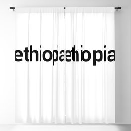 ethiopia Blackout Curtain