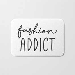 Teen Girls, Room Decor, Wall Art Prints, Fashion Addict, Affordable Prints, Fashion Quotes Bath Mat