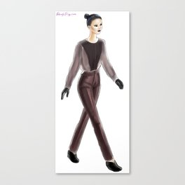 Caitlin Power FW13 Canvas Print