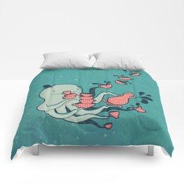 Tea & Tentacles Comforters