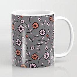 Floral Vibes - Dark Shades Coffee Mug