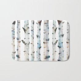 Birch Tree Bath Mat