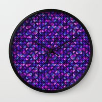 the flash Wall Clocks featuring Flash by Valendji