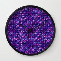 flash Wall Clocks featuring Flash by Valendji