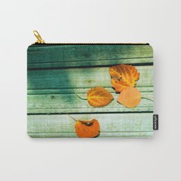 four yellow leaves Carry-All Pouch