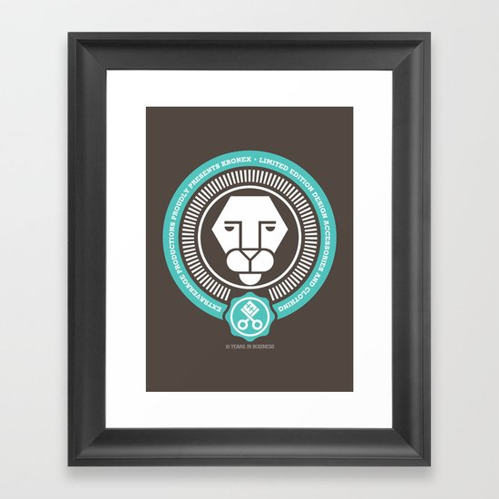 10 Years Framed Art Print
