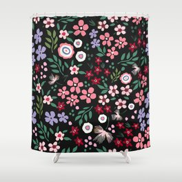 Earth laughs in flowers Shower Curtain