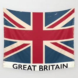 Great Britain Rail poster Wall Tapestry