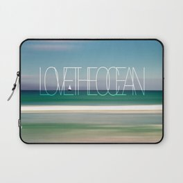 LOVE THE OCEAN II Laptop Sleeve