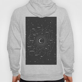 Constellations Map Hoody