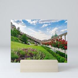 Royal Palace Garden Mini Art Print