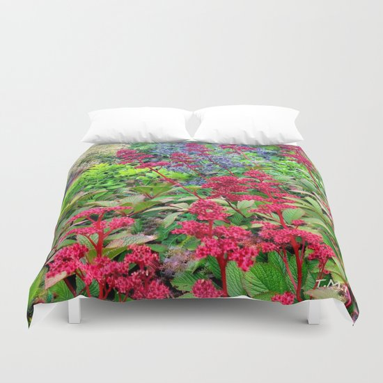 Flower Burst | Flower Garden | Flowers Duvet Cover