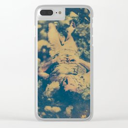Dream Fall Clear iPhone Case