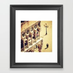 Lovers Venice Italy Travel Photography Framed Art Print