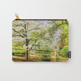 Dogwoods and Red Birds Carry-All Pouch