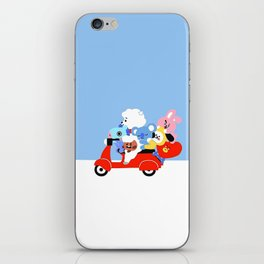 BT21 on the Road iPhone Skin
