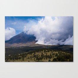 Popocatepetl Mexican Volcano Canvas Print