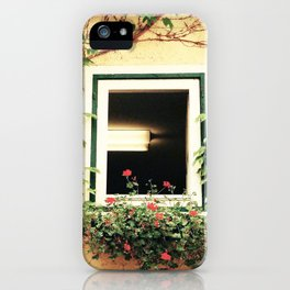 Window and ivy iPhone Case