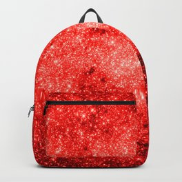 Red Galaxy Sparkle Backpack