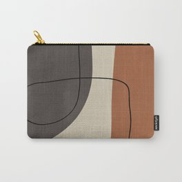 Modern Abstract Shapes #2 Carry-All Pouch