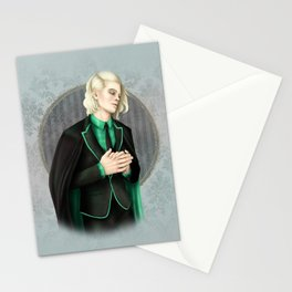 A Study In Green Stationery Cards
