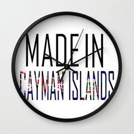 Made in Cayman Islands Wall Clock