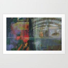 Milan-Train Station2 Art Print