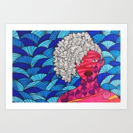 Danielle Art Print