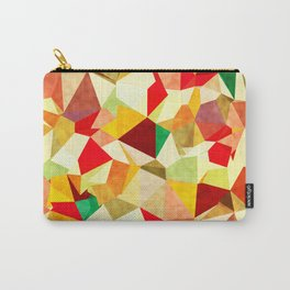 Autumn Triangles Carry-All Pouch