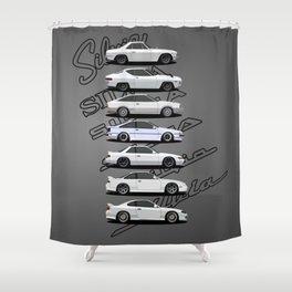 Silvia Generations Shower Curtain