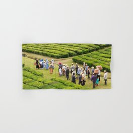 Tea gardens Hand & Bath Towel