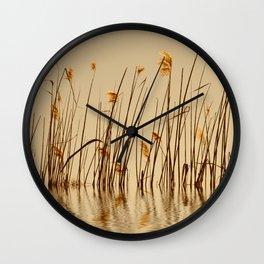 Grass 34 Wall Clock
