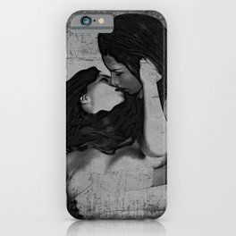 Lesbians B&W iPhone Case