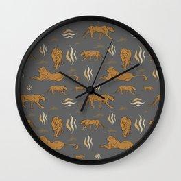 Sikiti Samburu Wall Clock