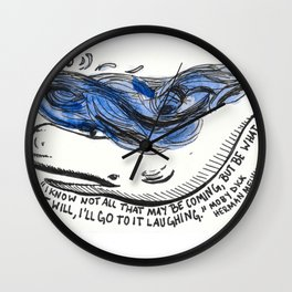Go To It Laughing Wall Clock