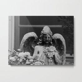 churchyard angel Metal Print