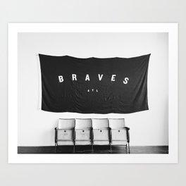 Go Braves Art Print
