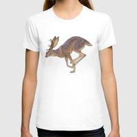 jackalope T-shirts featuring Jackalope by Sadé Hickman
