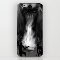 cthulhu iPhone & iPod Skins featuring Cthulhu by Guilherme Garcia