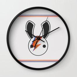 An Aladdin Sane Bunny Wall Clock